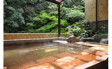 D-12.【奥水間温泉】日帰りペア昼食・入浴券付セット
