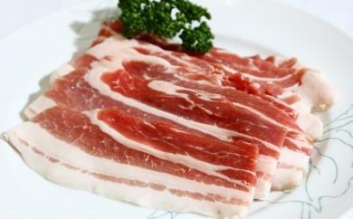 [№5749-0074]十勝幕別産黒豚バラ800g 豚丼用タレ付き