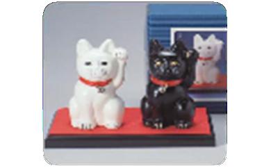 D15 招き福 招き猫:高岡銅器