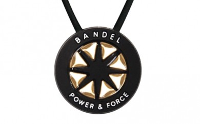 [№5809-0134]BANDEL necklace(バンデルネックレス) Black×Gold 45cm