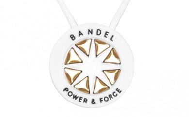 [№5809-0139]BANDEL necklace(バンデルネックレス) White×Gold 50cm