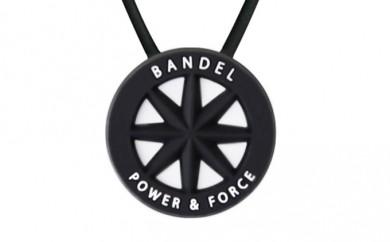 [№5809-0127]BANDEL standard necklace(バンデルスタンダードネックレス)Black×White 50cm