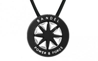 [№5809-0136]BANDEL necklace(バンデルネックレス) Black×Silver 45cm