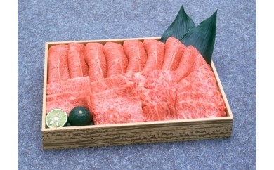 B005 阿波牛カルビ焼肉 600g