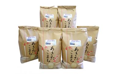 【E9】能代ふる里米30kg (秋田県産あきたこまち100%)