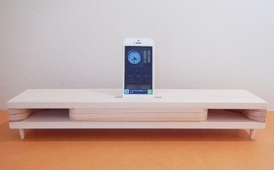 D-007 iPhone Speaker[木の音.Konon]リムジン