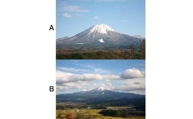 【18096】カメラのカヤノ「大山の写真パネル」
