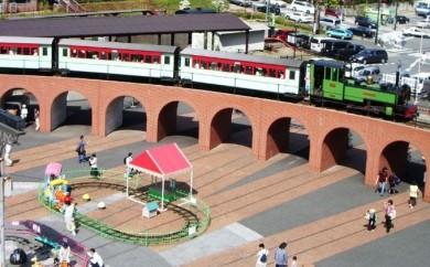 [№5815-0008]鉄道文化むら入園・乗り物券セット 2名分