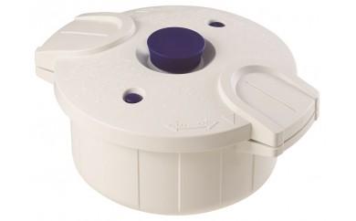 H-24 スケーター 電子レンジ圧力鍋「極み味」(ホワイト)