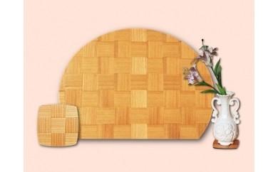 【D13】Pifa 半月膳(大)とミニトレイ胴張りのセット