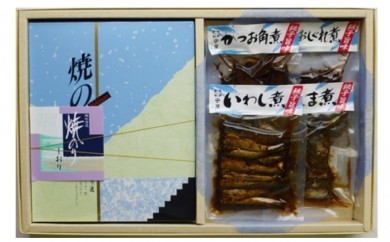 [№5689-0041]CM-2-30海苔・佃煮詰合せ