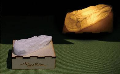 E015 明日香村遺跡ランプ「酒船石」【6,000pt】
