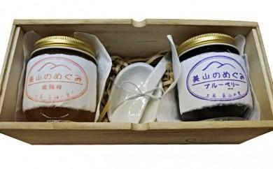 [№5730-0054]ブルーベリージャム・季節のジャム・手作りジャムプレートセット
