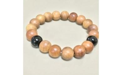 BP34 【高級素材】心の癒しの香りのするブレス 白檀の数珠ブレスレット【2500pt】