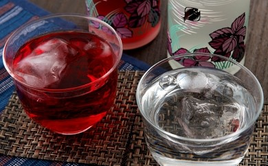 [№5723-0067]鍛高譚の梅酒・透明な鍛高譚の梅酒 500ml 8本セット