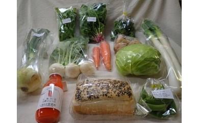 112 オーガニック野菜とマクロビオティックスイーツ定期便 毎月1回 計12回お届け