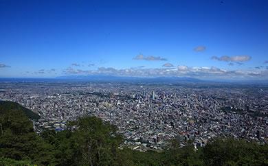 「日本新三大夜景都市 札幌」藻岩山プレミアム体験【ランチ2名様分】