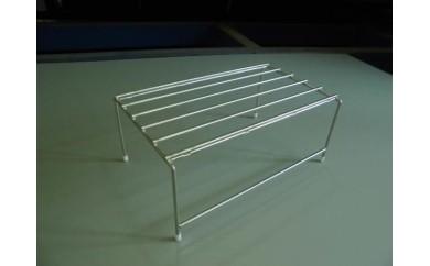 ステンレス製小物棚丸棒仕様