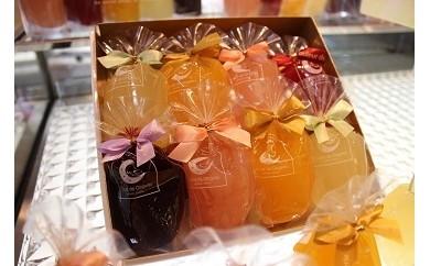 A56【シールド乳酸菌配合・国産果実使用】 クルール・ド・銀月「湧水ジュレ」8個入り 【果物のおいしさそのまま】(B56)