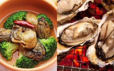 [№5863-0024]厚岸産牡蠣「マルえもん」とコンキリエオリジナルセット