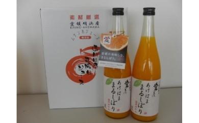 (6)あけはままるしぼりジュース 2本セット