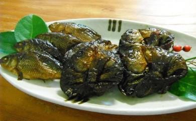 [№5865-0003]子鯉の甘露煮・すずめ焼き詰め合わせ