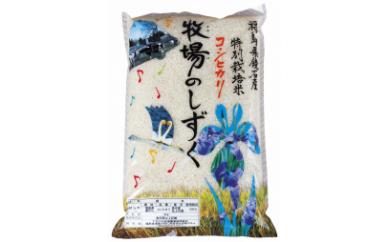 A-1 特別栽培米コシヒカリ 牧場のしずく(5kg)