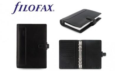 [№5809-0217]FILOFAX システム手帳 ホルボーン バイブルサイズ ブラック