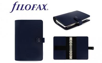 [№5809-0216]FILOFAX システム手帳 オリジナル バイブルサイズ ネイビー