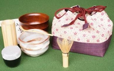 [№5825-0158]「お茶ごころ」-L 茶道具セット