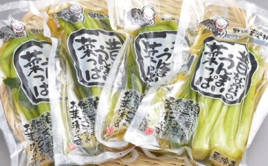 [№5869-0006]A-5b 野沢菜セット(Bセット)