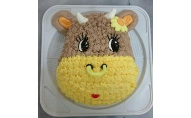 F008伊万里マスコットキャラクター立体ケーキ