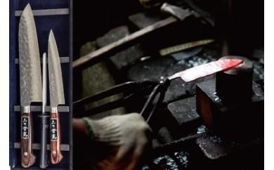 AA076匠の技で研ぎ澄まされた  島原手打ち刃物セット