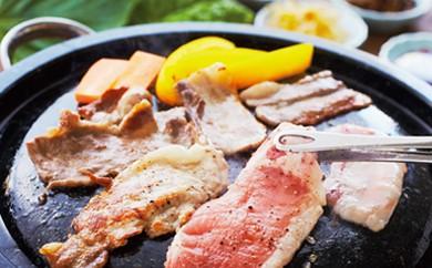 [№5674-0219]花園黒豚まるごとお肉