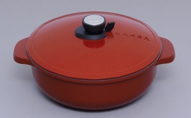 [№5730-0067]無加水鍋 28㎝浅型 MKSN-P28S