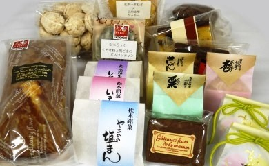 「松本の銘菓詰め合わせ」+公共施設ご招待券