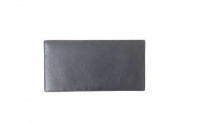 [№4631-0880]イタリア製長財布 / ブラック