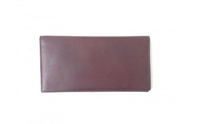 [№4631-0881]イタリア製長財布 / ブラウン