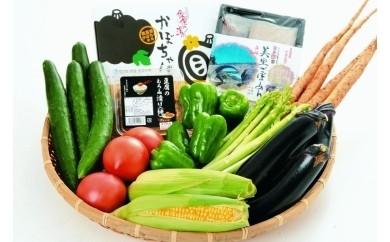F1.季節の野菜及び特産品(定期便年4回:4月・7月・10月・1月)