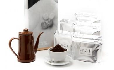 [№5803-0040]トートコーヒー 飲み比べセット(粉:ドリップ挽き)