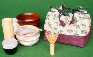 [№5825-0157]「お茶ごころ」-M 茶道具セット
