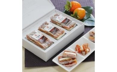 幻のカルピスバターを使った逸品 市田柿ミルフィーユ3本セット