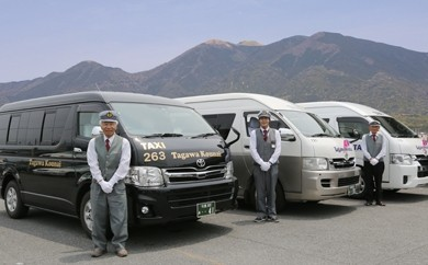 【福智町特設サイトからのみ受付http://furusato-fukuchi.jp/】 ゆったり車内でラクラク移動!福智への旅プラン「ジャンボタクシー送迎」