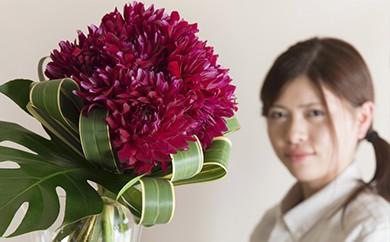 [№5691-0147]「毎週」届く、旬のお花(52回/1年間)