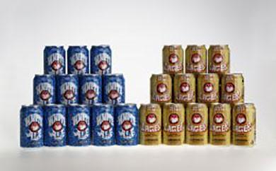 B006 常陸野ネストビール缶24本セット【22pt】