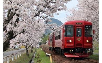 T26-01 観光列車「ながら」ランチプラン乗車券(シングル)