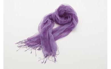 704.紫根染めのスカーフ
