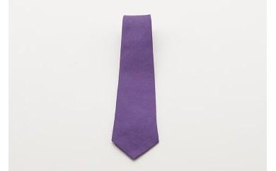 1001.紫根染めのネクタイ