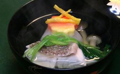 [№5644-0142]季節を味わう会席料理「ふるさと納税 茜コース」3名様食事券