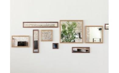 BG52 ORLO Wall Mirror 2184 oak【95,000pt】